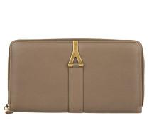 Kleinleder - Ligne Y Calf Leather Wallet Beige