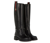 Guccissima Boot Leather Nero