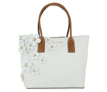 Daisy Tote Bag White Multi
