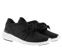 Willa Trainer Black Sneakers