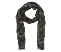 Camoustars Cashmere And Modal Scarf Army Green Schal braun