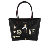 Shopping Bag Love Nero Tote