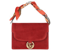 Satchel Bag Shawl Shoulder Medium Red