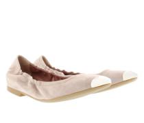 Ballerinas - Cece Ballerinas Kid Suede Nude