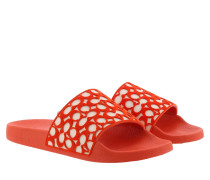 Schuhe Shoes Shower Slides Fiery Red