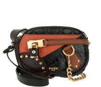 Shoulder Bag Studs Zipper Fantasia Umhängetasche