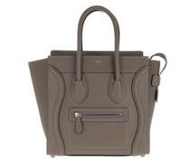Tote Micro Luggage Bag Leather Souris