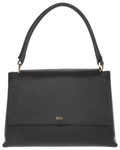 hugo boss damen hugo tasche ginevra leather shoulder bag. Black Bedroom Furniture Sets. Home Design Ideas