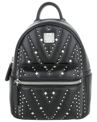 mcm damen mcm tasche diamond disco backpack x mini black in schwarz umh ngetasche f r. Black Bedroom Furniture Sets. Home Design Ideas
