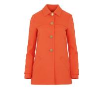 Swing Twill Coat Poppy Mantel orange