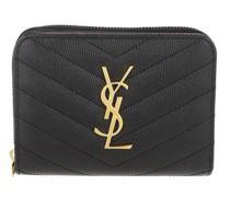 Portemonnaie Monogram Compact Wallet Embossed Leather