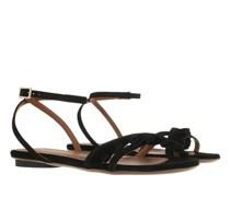 Sandalen & Sandaletten Flat Sandals Calf Suede