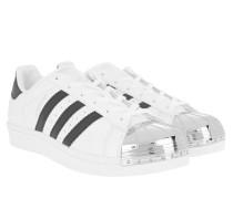 Superstar Metal Toe Sneakers Black/White/Metallic Silver Sneakerss