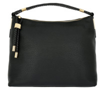Skorpios Top Zip Shoulder Bag Black Hobo