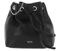 Beuteltasche Kristini Mini Drawstring Bag Black