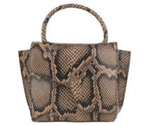 Satchel Bag Montalcino Tote Printed Snake Brown