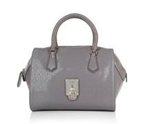 Guess Tasche - Rosalind Paxton Satchel Taupe - in braun - Henkeltasche für Damen