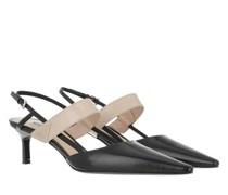 Pumps & High Heels Triangle Logo Slingback Leather