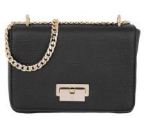 Lucy Mini Shoulder Bag Black Umhängetasche