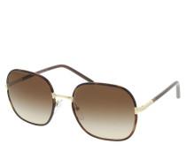 Sonnenbrille 0PR 67XS 2AU6S1 Woman Sunglasses Catwalk Havana