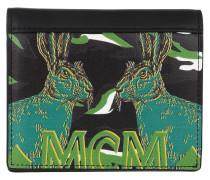 Portemonnaie Mini Flat Fold Wallet Black