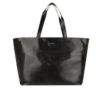Elea Large Shopper Fratturato Black Umhängetasche schwarz