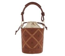Beuteltasche Holly Mini Bucket Bag Camel