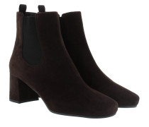 Chelsea Boots Suede Black Schuhe