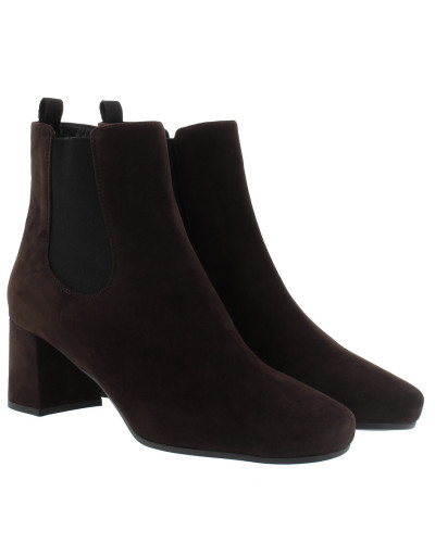 Chelsea Boots Suede Black Schuhe