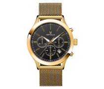Uhr Mens Chronograph Watch Harmony Gold