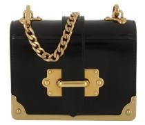 Micro Cahier Bag Black Umhängetasche