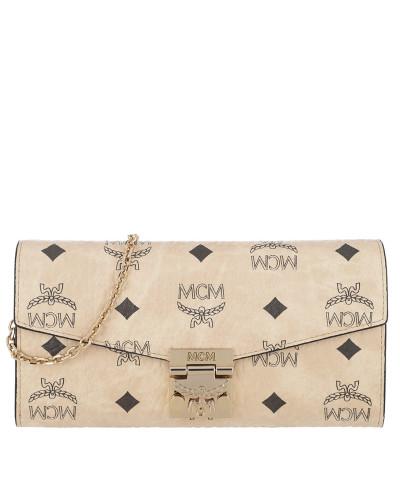 MCM Damen Patricia Visetos Wallet Large Tasche Günstig Kaufen Websites goDxY