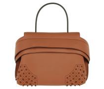 Shoulder Bag Wave Mini Gommino Dolce Mistic Brandy Umhängetasche