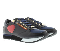 Sneakers - Sneaker Hearts Black/Blue