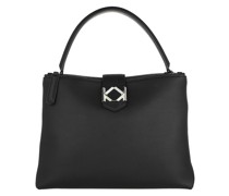 Tote Miss K Medium Top Handle Black