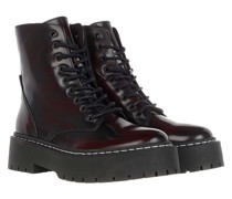 Boots Skylar Ankle Boot Black Burgundy