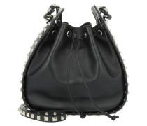 Rockstud Bucket Bag Nero Beuteltasche schwarz