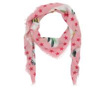 GG Garden Exclusive Modal Silk Shawl Ivory/Rose Schal