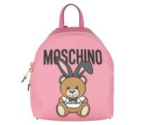 Playboy Bear Backpack Rosa Rucksack
