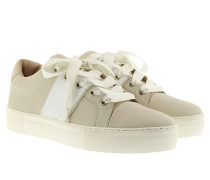 Daphne Sneaker II Grain Leather White