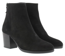 Silvia Crosta Ankle Boot Negro