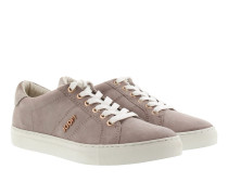 Coralie Suede Sneaker Taupe