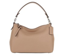 Hobo Bag Soft Pebble Leather Shay Crossbody Lh/Taupe
