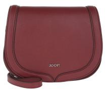 Felipa Pure Shoulder Bag Small Dark Red Umhängetasche
