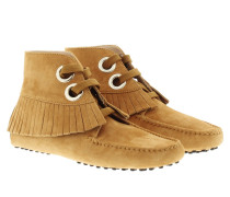Boots & Booties - Gommini Polacco Frangia Vele Moccasins Light Brown