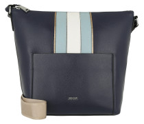 Kassandra Hobo Shoulder Bag Dark Blue