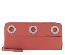 Gigif8 Gromme Wallet Coral Pink