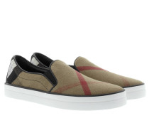 Loafers & Slippers - Gauden Check Sneaker Black