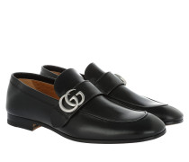 Quentin Loafers Calfskin Nero Schuhe
