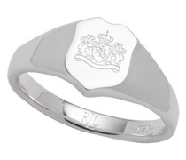 Ring Sterling Silver Shield